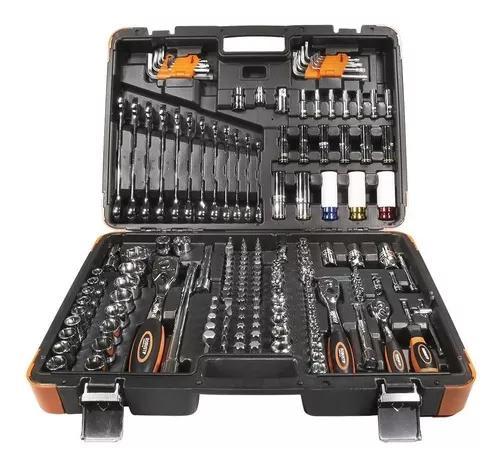 Jogo de ferramentas oficina master 178 peças 5000r robust