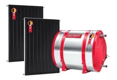 Kit aquecedor solar komeco - boiler 400 nivel + 2 coletores