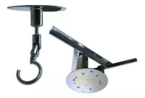 Kit extensor teto forro de gesso 37a55cm - gancho zincado