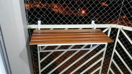Mesa / aparador para varanda gourmet