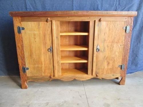 Mini arcaz madeira rústica - provisan