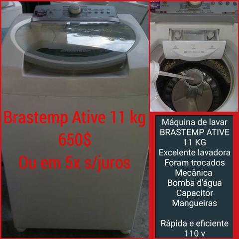 Máquina de lavar brastemp ative 11 kg revisada com garantia