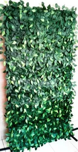 Muro inglês artificial com galhos de fícus verde 2 x 2