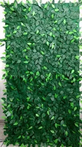 Muro inglês painel de folhas de ficus 2,4 x 1 frete grátis