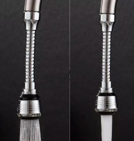Novo) bico extensor torneira flexível arejador giratório