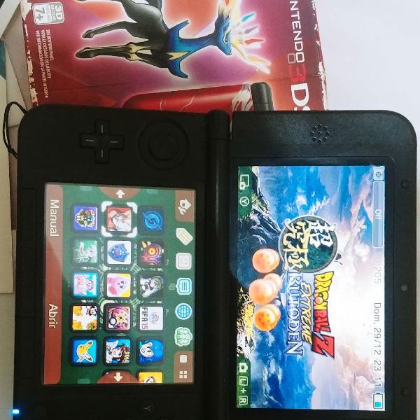Nintendo 3ds xl edição pokémon