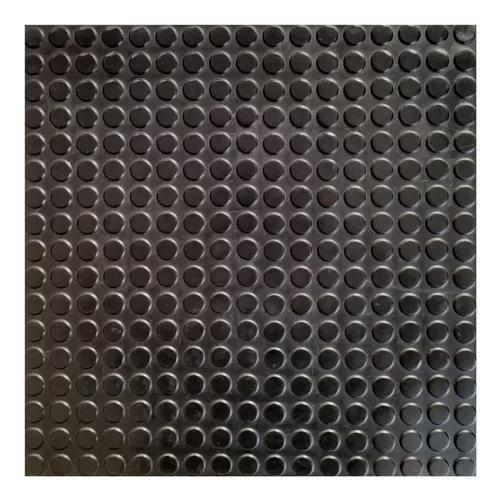 Piso borracha antiderrapante kit 40 placas 50x50 cm 10 m2
