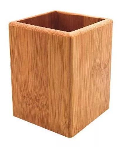 Porta objetos bambu - a/casa