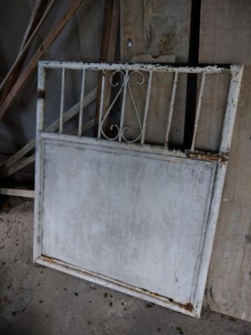 Portões de ferro meia altura
