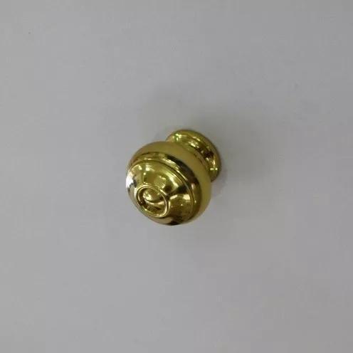 Puxador Móveis E Armarios Bola Torneado G Dourado Bronze