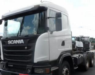 Scania g 470 6x4 entrada de 25 mil