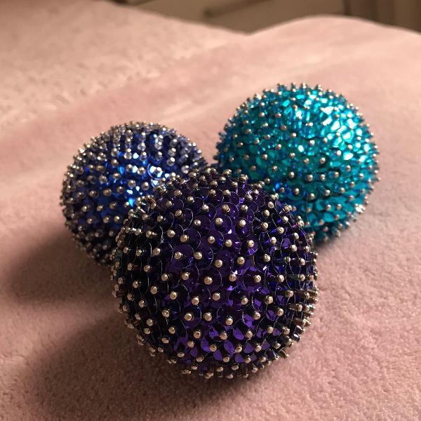 Bola decorada tamanho p