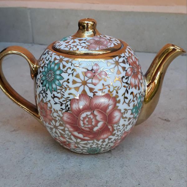 Bule de chá porcelana
