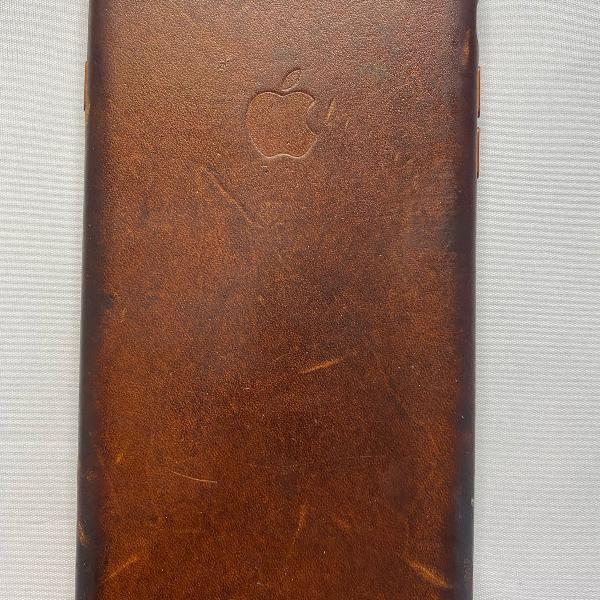 Case para iphone 8 plus em couro . original