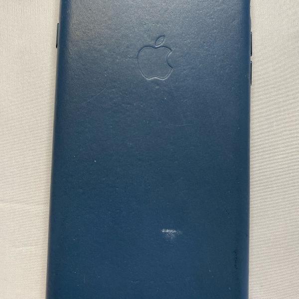 Case para iphone 8 plus.original em couro azul . linda!!!