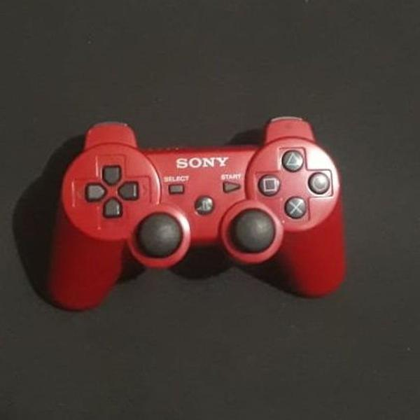 Controle vermelho playstation 3 original