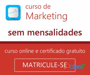 Curso online de marketing  invista no seu currículo