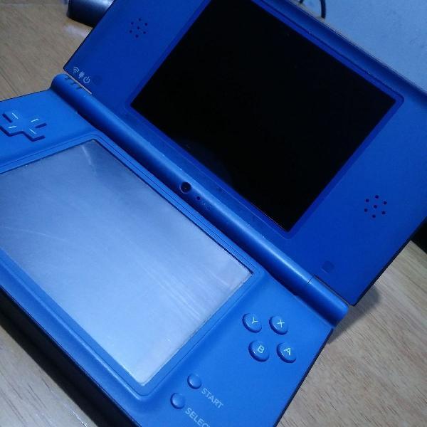 Dsi xl azul com vários jogos