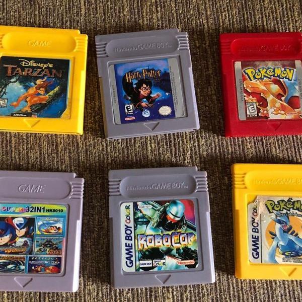 Game boy color jogos