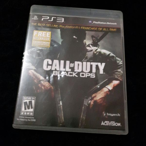 Jogo para ps3 call of duty black ops original