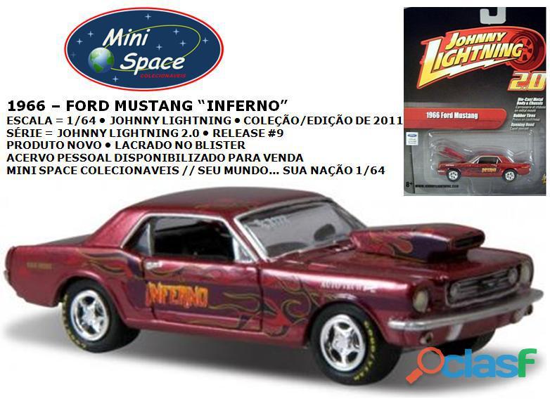 Johnny Lightning 1966 Ford Mustang Inferno 1/64