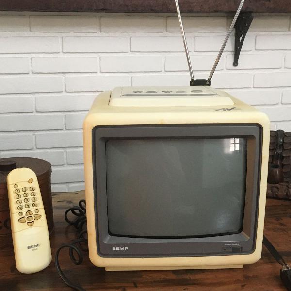 Mini televisor portátil semp toshiba 10 polegadas