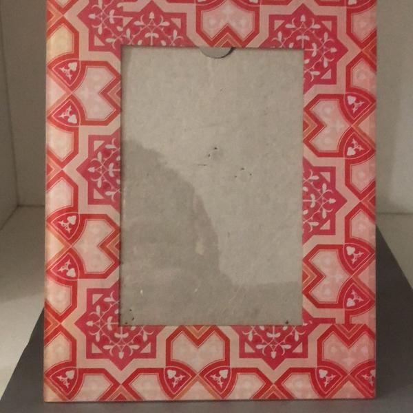 Porta retrato rosa lelis blanc