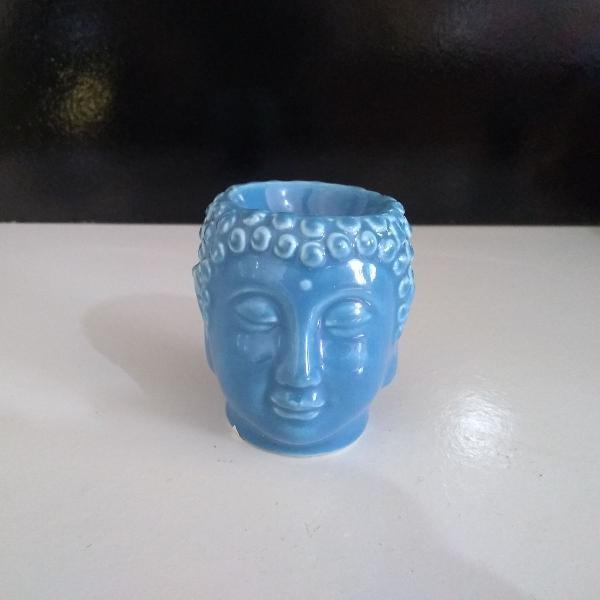 Porta vela azul