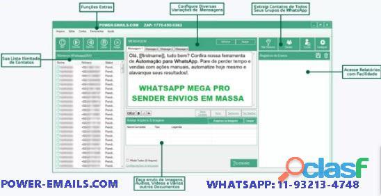 Sistema Marketing Whatsapp Envios 2020 1