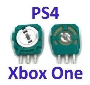 4 peças modulo sensor analógico 3d ps4 xbox one frete 14