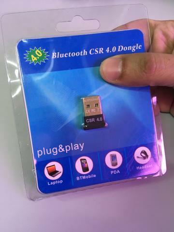 Adaptador usb bluetooth 4.0 csr dongle para pc notebook