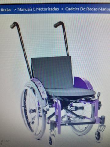 Cadeira de rodas infantil mini k ortobras
