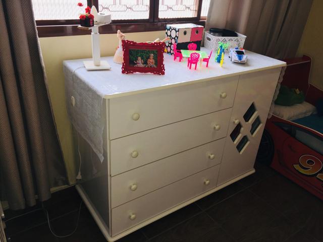 Cômoda quarto bebê
