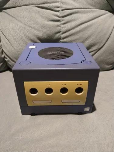 Console índigo game cube funcionando