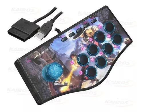 Controle arcade fliperama p/ ps2 / ps3 / pc leaves