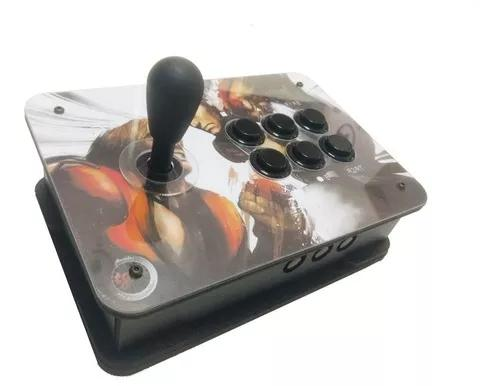Controle arcade tgm zero delay - optico - rasp, pc, ps3, ps4