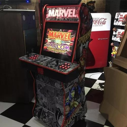 Fliperama, arcade slim da rnb tech frete gratis p/ grande bh