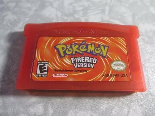 Game boy advance - pokémon firered version - original