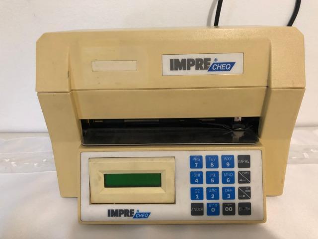 Impressora de cheque