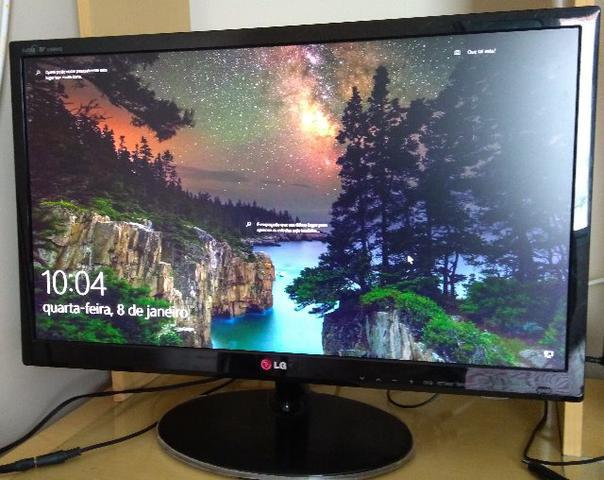 Monitor tv lg led 24 pol full hd 1920 1080 hdmi pip