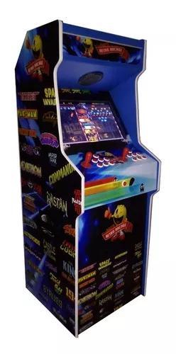Máquina fliperama retrô 19 arcade 2600 jogos nova