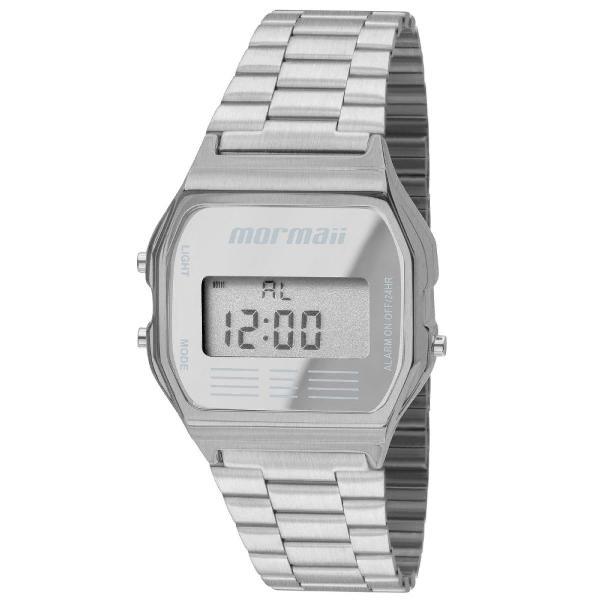 Relógio mormaii maui mojh02aa/3c prata