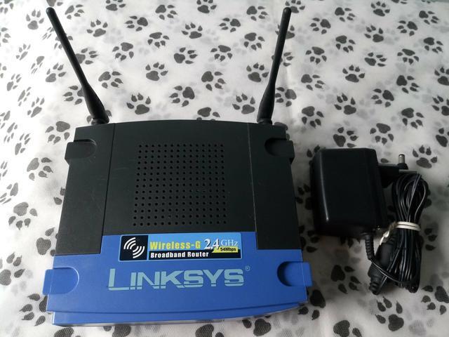 Roteador wireless 2 antenas linksys