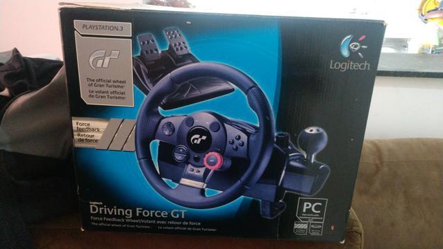 Simulador volante driving force gt