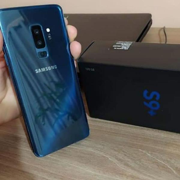 Smartphone galaxy s9 plus - novo