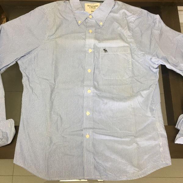 Camisa de botão abercrombie and fitch importada masculina