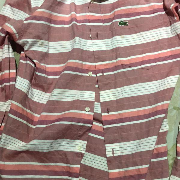 Camisa de manga longa lacoste original