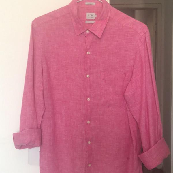 Camisa linho richards