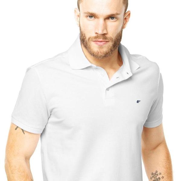 Camisa polo ellus branca original
