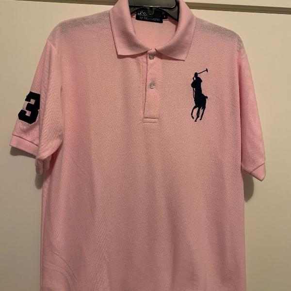 Camisa polo masculina manga curta marca polo ralph lauren